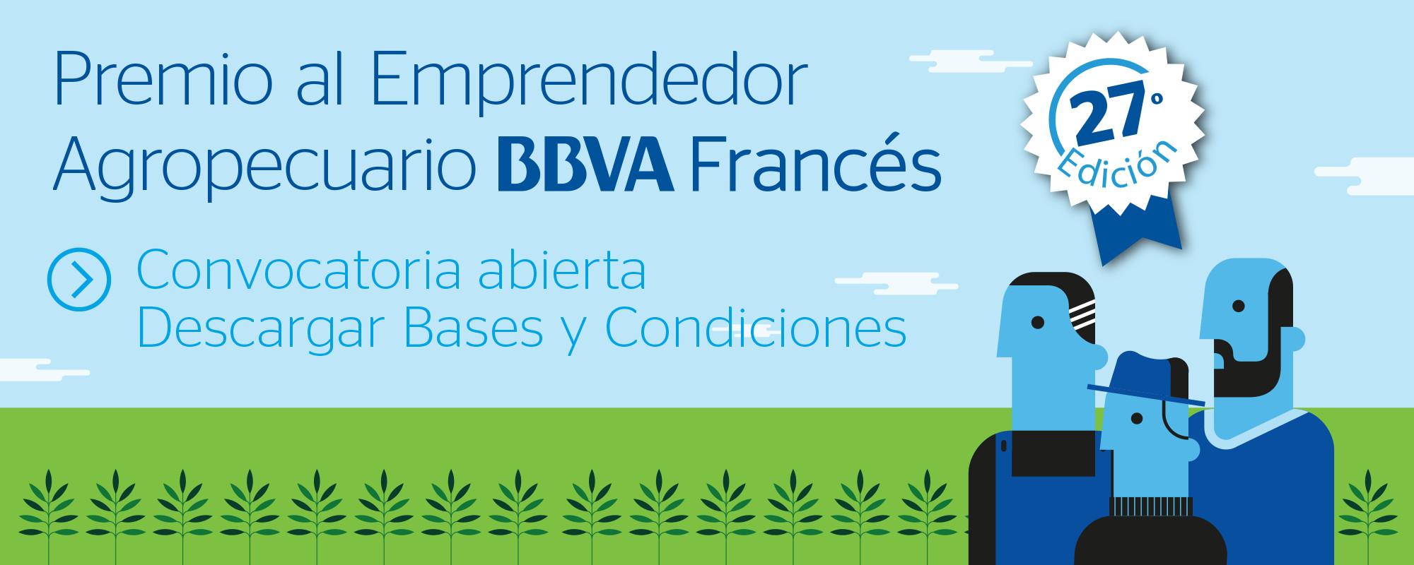 BBVA - 27 - Premio al Emprendedor Agropecuario